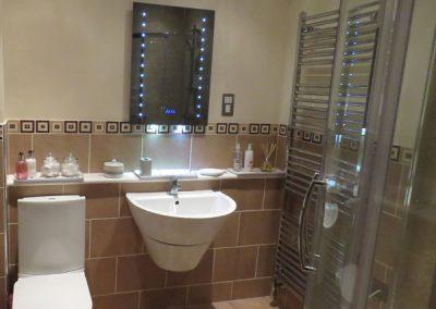 tweed bathroom